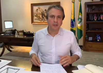 24.06 | Camilo Santana anuncia novas ações para enfrentamento da Covid-19 no interior do Ceará