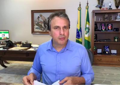21.04 | Governador Camilo Santana anuncia mais de 300 leitos de UTI criados para pacientes com Covid-19