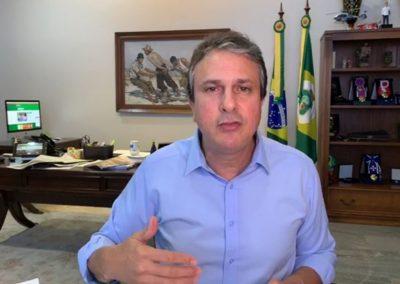 13.04 | Camilo Santana anuncia ampliação dos leitos de UTI na capital e interior
