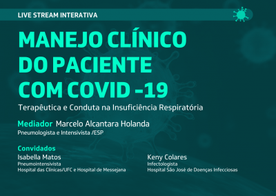 Live Stream: Manejo Clínico do Paciente com Covid-19