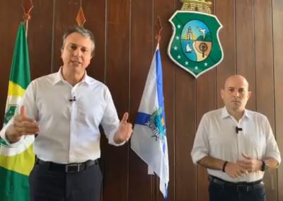 05.05| Governador Camilo Santana anuncia renovação do decreto estadual de isolamento por mais 15 dias