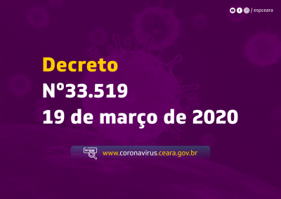 Decreto Nº33.519 de 19 de março de 2020