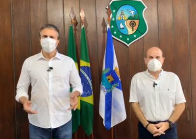 28.08 | Camilo Santana anuncia retorno de atividades com novo decreto de isolamento social