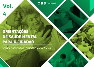 Orientações gerais de saúde mental na rotina dos cidadãos é tema de cartilha