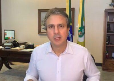 30.07 | Camilo Santana comenta nota máxima do Ceará em ranking de transparência