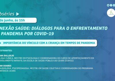 Webconferência aborda a importância do vínculo com a criança em tempos de pandemia