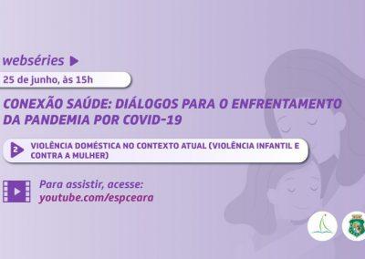 Webpalestra aborda violência contra crianças e mulheres no contexto da Covid-19