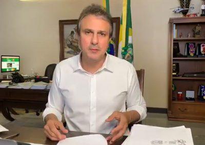 21.08 | Camilo Santana anuncia que plano de retomada da economia prossegue