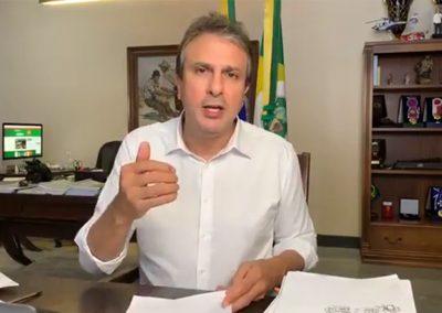 10.09 | Camilo Santana reforça tendência de queda nos indicadores de Covid-19 no Ceará
