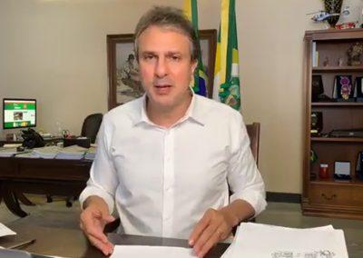 02.09 | Camilo Santana informa que parte de leitos de Covid-19 é remanejada para outras demandas da saúde