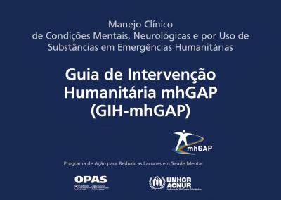 Guia de Intervenção Humanitária traz orientações sobre ações no campo da saúde mental