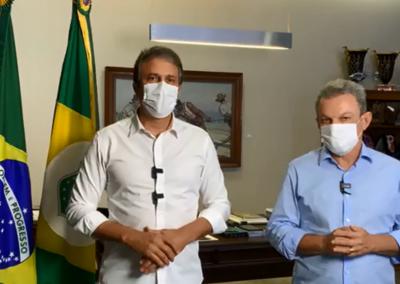 Camilo Santana anuncia medidas para ampliar a vacinação