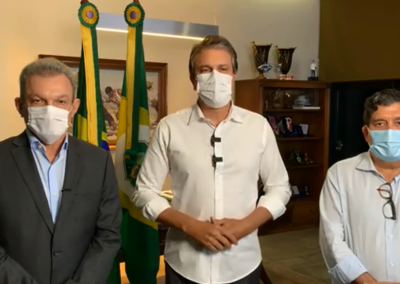 02.02.2021 | Camilo Santana anuncia novas medidas para conter avanço da pandemia em Fortaleza
