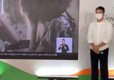 01.03 | Camilo Santana anuncia a entrega de 10 novos leitos de UTI para os municípios de Tauá, Crato e Canindé