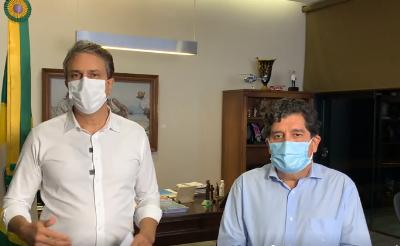 11.03.2021 | Camilo Santana anuncia isolamento social rígido no Ceará