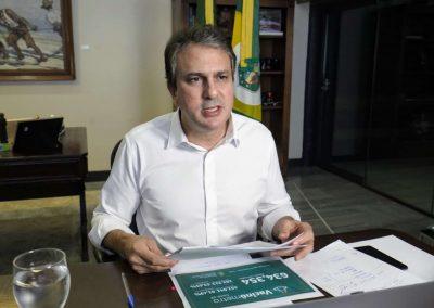 18.03.2021 | Camilo Santana anuncia pagamento da conta de luz de quase 500 mil famílias de baixa renda