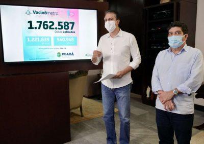 24.04.2021 | Camilo Santana anuncia decreto que permite avanço da economia; isolamento social rígido será mantido no fim de semana