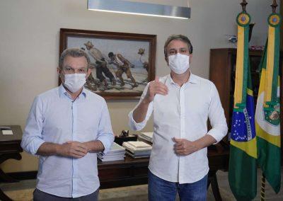 04.04.2021 | Camilo Santana anuncia início da retomada gradual das atividades não essenciais a partir do dia 12 de abril