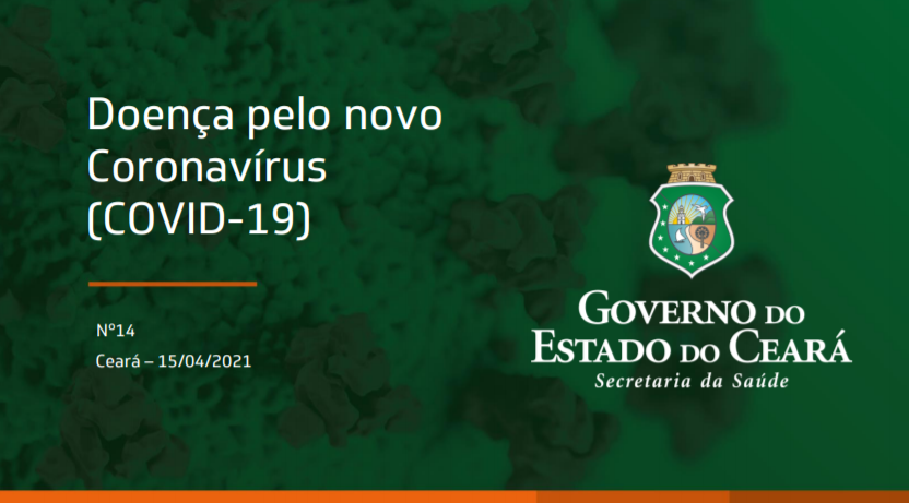 Boletim epidemiológico Nº 14 de 15 de abril de 2021