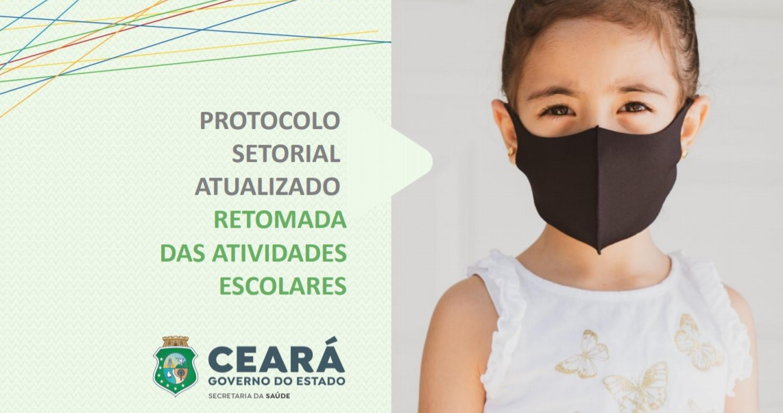 Protocolo informa sobre a retomada das atividades escolares no Ceará