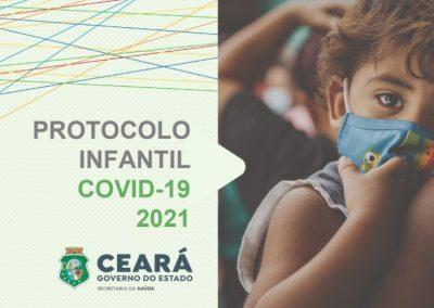 Secretaria da Saúde do Ceará publica protocolo infantil da Covid-19